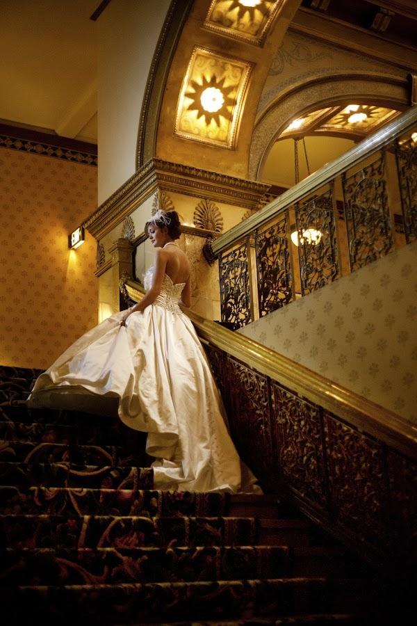 Golden paths by Jeanine Thurston - Wedding Bride