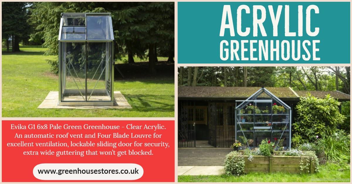 Acrylic Greenhouses