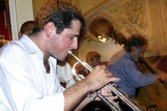 Photo: Dominick Farinacci plays with Wynton Marsalis (Rodescu Hopkins Cleveland School of the Arts PHOTO Department copyright 2007)