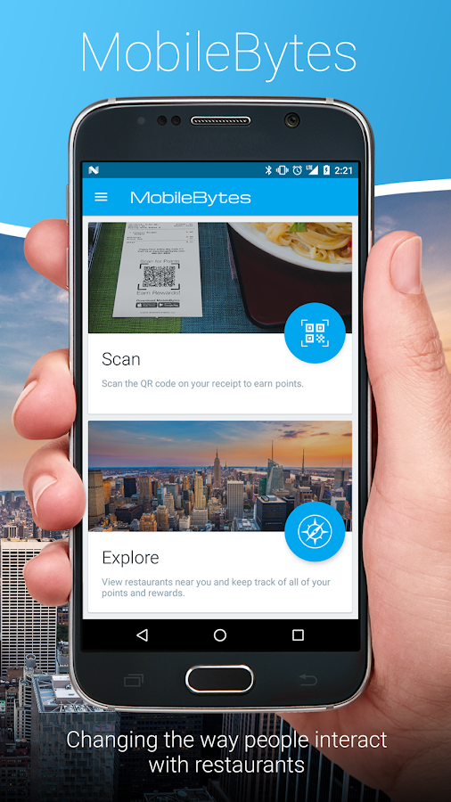 MobileBytes Restaurant Loyalty- screenshot