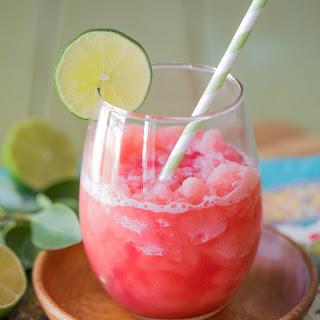Coconut Lime Watermelon Slushie Recipe