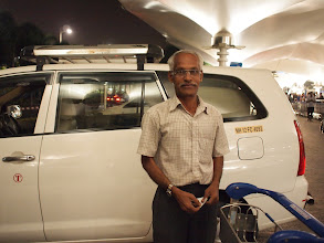 """Photo: In India, where far more than a billion people live, finding a faithful person is sometimes easy but many times very difficult. Mr. Pravin is working as a driver for my husband's company ShimBi Labs (www.shimbi.in) since the establishment in 2005. With my experiences of a handful of other drivers in Pune, I know how precious he is """"just because"""": he is punctual, as his standard duty time starts at 15 minutes before the promise; he is honest, as he will never ask any extra fee than he need which is modest; he is kind, even he once offered his financial support when we've met an accident which was not because of his mistake at all, though we declined. My husband and all his clients (as he is always so highly demanded that he takes other clients on weekends) say he is the person with whom a woman can travel alone in the night. Opening your heart and listening to the inner voice, like my husband is doing, could be one of the keys to finding out the person like him. 1st September updated (日本語はこちら★) -http://jp.asksiddhi.in/daily_detail.php?id=288"""
