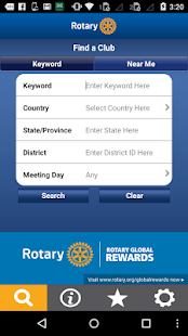 Rotary Club Locator- screenshot thumbnail