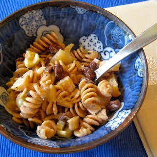 Pasta Salad with Sesame Tarragon Dressing.