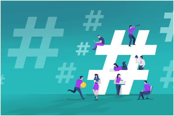 hashtags estão em alta novamente