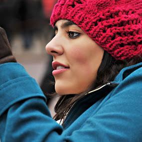 Beautiful Stranger by Carlos Acuesta - People Portraits of Women ( tourist, people, women )