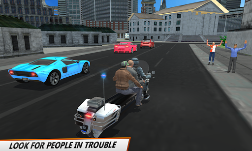 Bus Bike Parking Game: Police Bike City Driving for PC