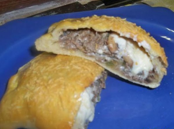 Philly Cheesesteak Calzones Recipe