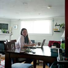 Photo: title: Jennifer Lampman, Boston, Massacusetts date: 2011 relationship: friends, met through Emma Hollander years known: 0-5