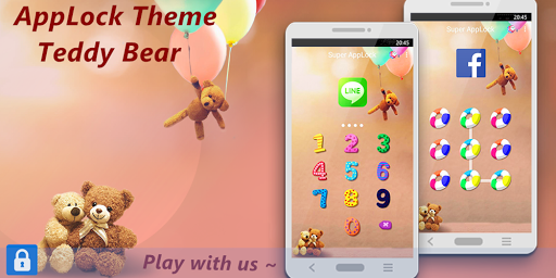 AppLock Theme Teddy Bear