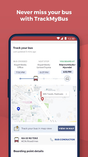 redBus - rPool Online Bus Ticket Booking App India screenshot 4