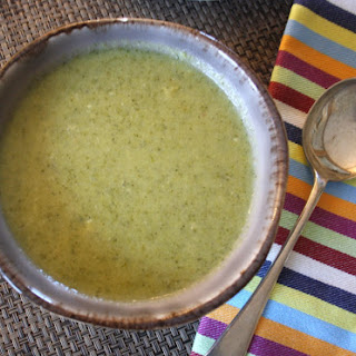 Broccoli Stilton Soup Recipe