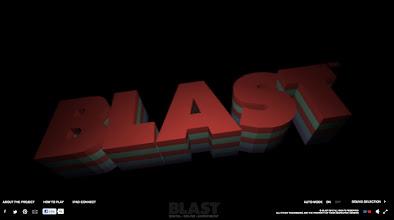 Photo: Site of the day 5 October 2012 http://www.awwwards.com/web-design-awards/blast%E2%84%A2