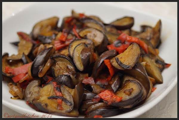 Stir-fried Asian Eggplant Recipe