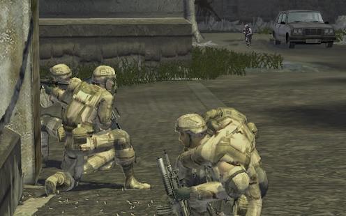 Komando okraj Armáda Odstřelovač Stávka - náhled