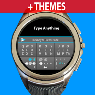 FlickKey Keyboard for Android Wear 2.0- screenshot thumbnail