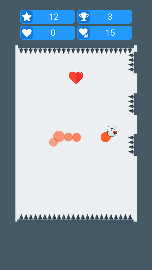 Fleye - Bounce off the wall- screenshot
