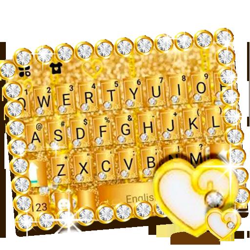 Luxury Gold Keyboard Theme Icon