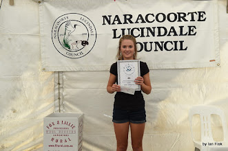 Photo: Ella - winner in Intermediate Encouragement