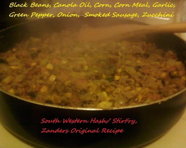 South Western Hash/stir Fry Recipe