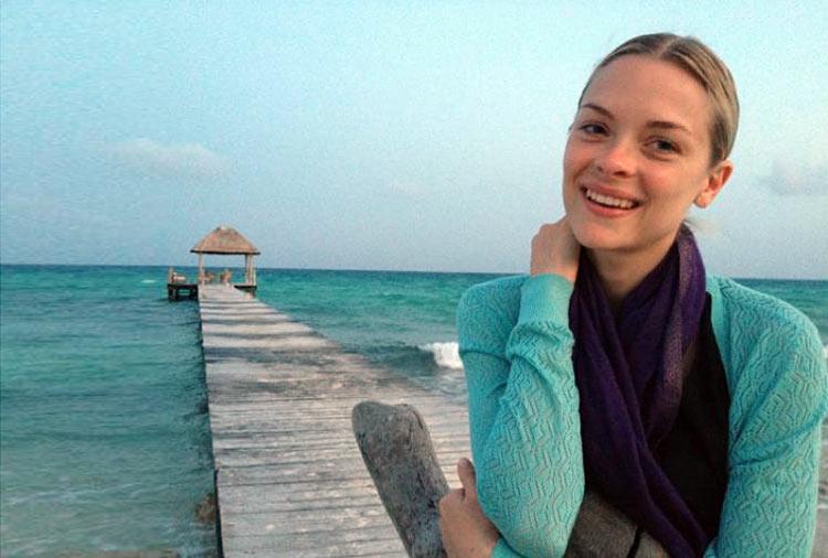 Jamie King at the Viceroy Riviera Maya in Mexico.