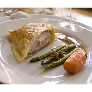 Phyllo-wrapped Asparagus.