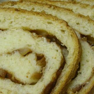 Swirled Cinnamon-Apple Bread.