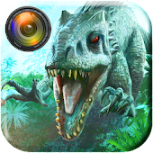 Jurassic Dinosaur World Photo Editor