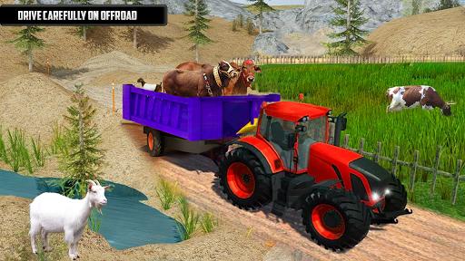 Tractor Trolley Animal Farming Simulator 3D  screenshots 4