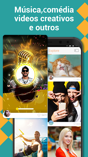 Kwai-Criar vídeos engraçados para WhatsApp Status screenshot 1
