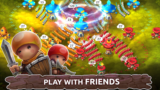 Mushroom Wars 2: RTS war game of mushrooms 3.17.1