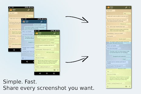 Stitch & Share: big screenshot Screenshot