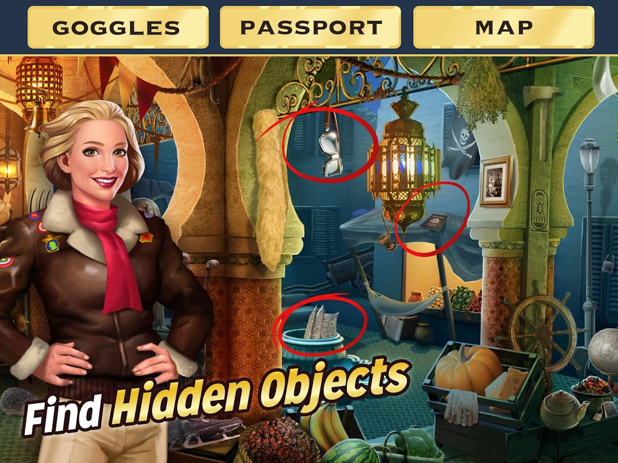 Pearl's Peril: Hidden Object- screenshot