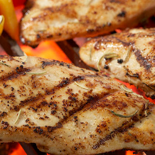Lemon Rosemary Grilled Chicken.
