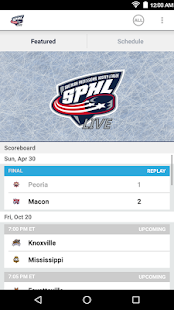 SPHL Live- screenshot thumbnail