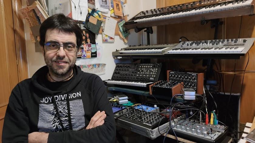 Josep Maria Soler, en su estudio