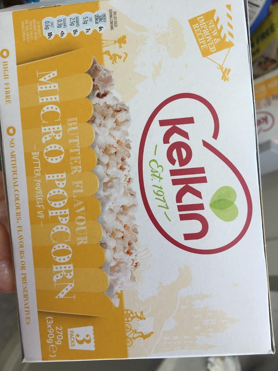 Butter Flavour Gluten Free Popcorn