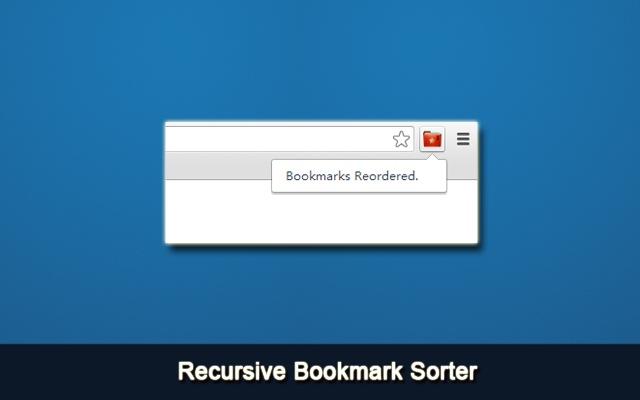Recursive Bookmark Sorter