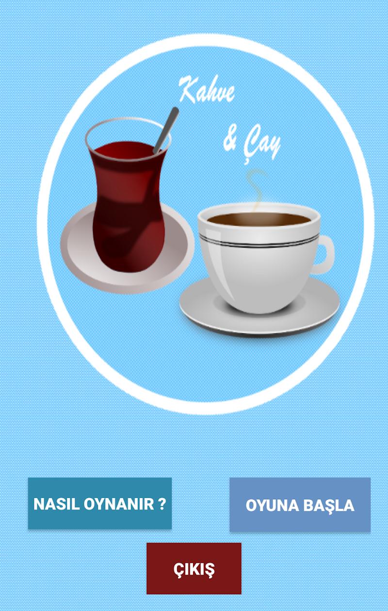 Скриншот Kahve ve Çay Oyunu
