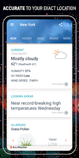 AccuWeather: Weather forecast news & live radar Screenshot