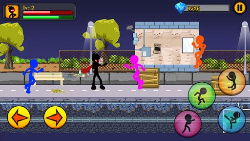God of fighting - Stickman Mafia fight for PC