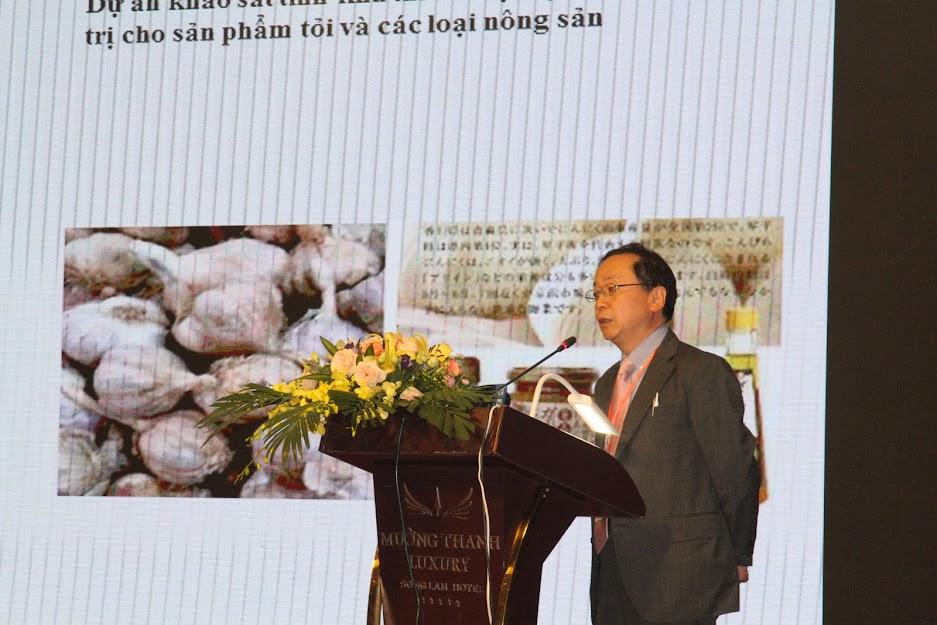 Đại diện các tổ chức, doanh nghiệp Nhật Bản trình bày các lĩnh vực hợp tác giữa Nghệ An – Nhật Bản