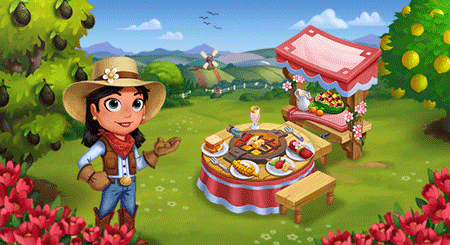 farmville 2 summer grill