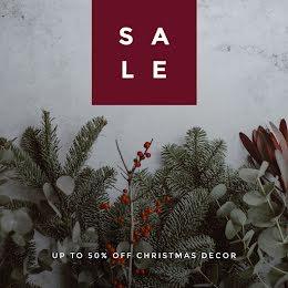 Christmas Decor Sale - Winter Holiday item
