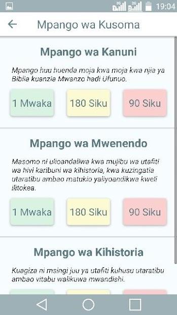 Biblia Takatifu Ya Kiswahili On Google Play Reviews Stats