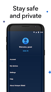 Hotspot Shield Free VPN Proxy & Secure VPN MOD (Elite) 5