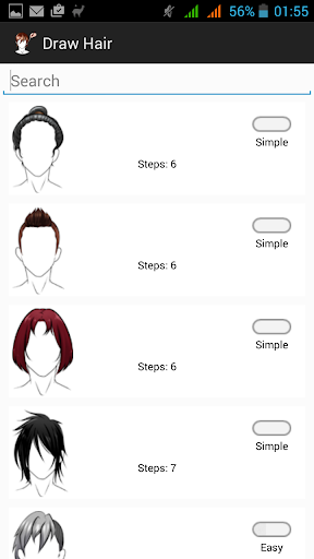 How to Draw Hair Hairstyles