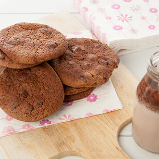 Malted Milo Cookies with Choc Chips