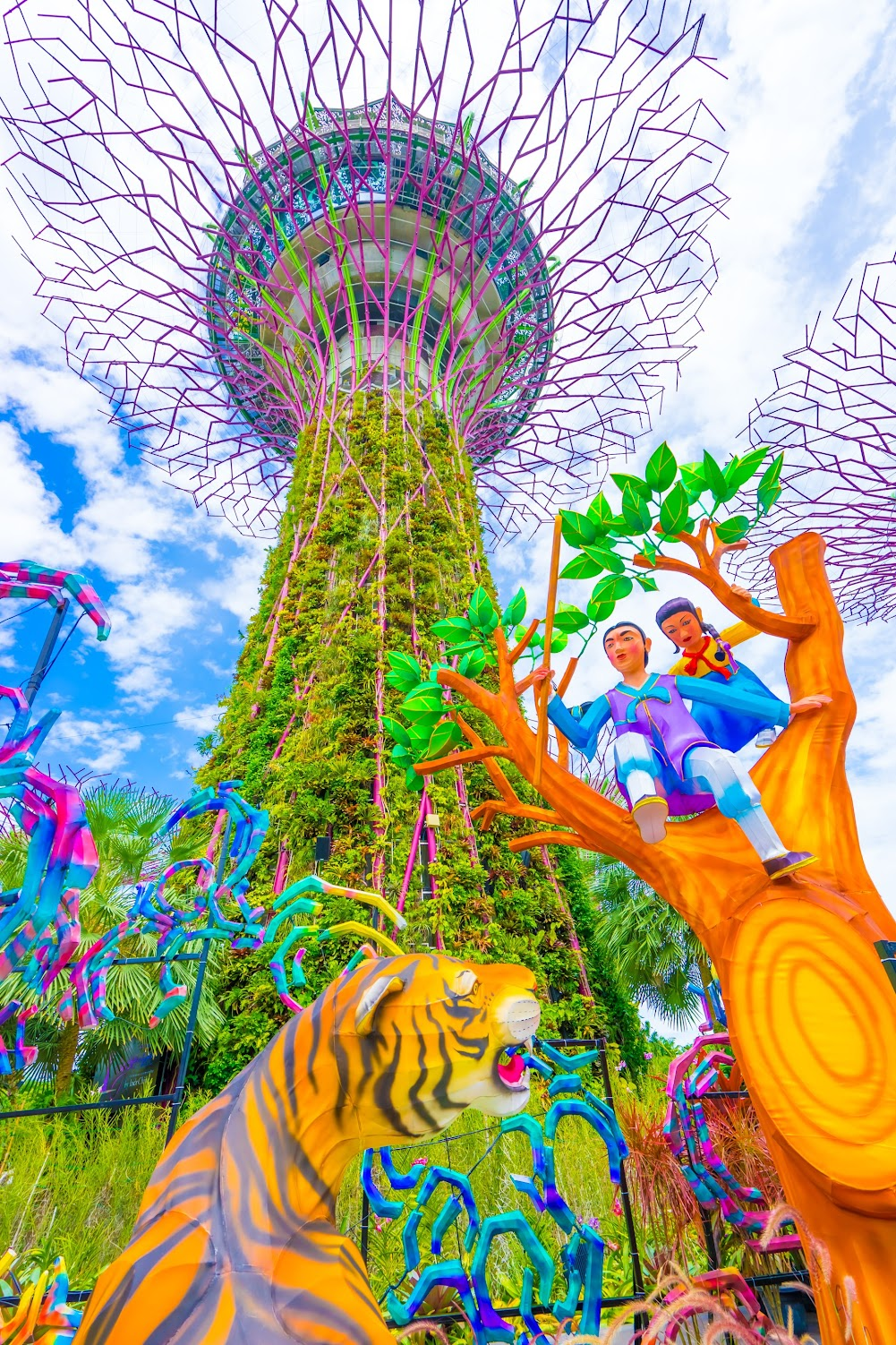 Gardens by the Bay Supertree Grove4