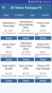 All Telenor Packages Pk - náhled
